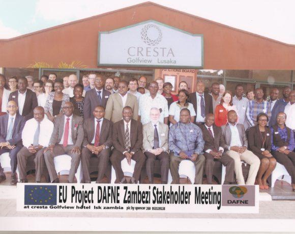 Stakeholder workshop in Lusaka