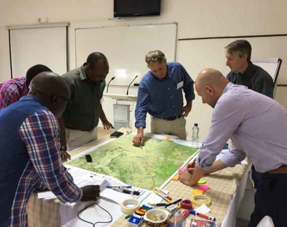 First Negotiation Simulation Lab for the Zambezi basin