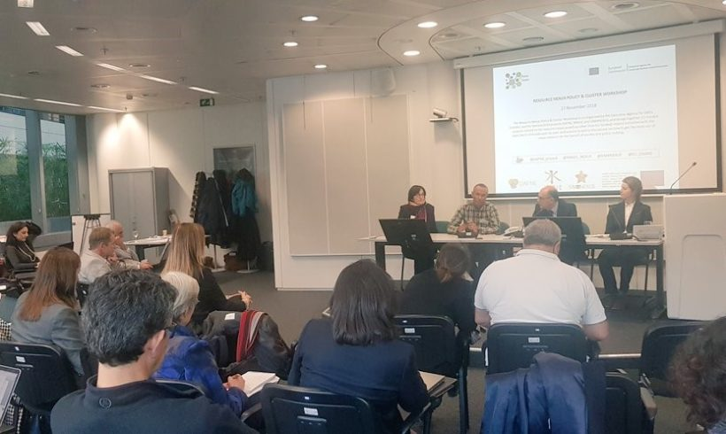 Resource Nexus Policy & Cluster Workshop on 27th November in Brussels