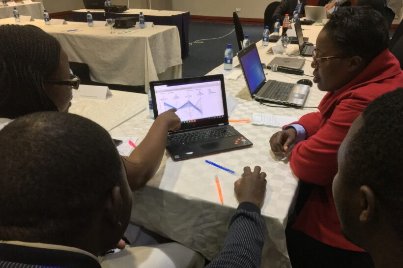 New knowledge visualisation tools presented in NSL workshops in Addis Abeba and Lusaka